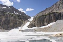 Grinnell lodowiec - lodowa park narodowy Zdjęcie Royalty Free