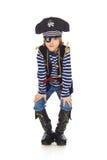Grinning пират мальчика Стоковое Изображение RF
