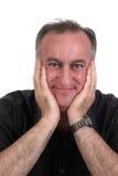 grinning человек Стоковое фото RF