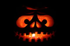 A Grinning Jack O Lantern Royalty Free Stock Photography