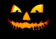 Grinning pumpkin Stock Photos