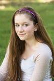 Grinning Teen Close Up stock photos