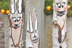 Grinsen von Osterhasen Stockfoto
