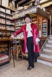 GRINSTEAD DO LESTE, SUSSEX/UK OCIDENTAL - 20 DE DEZEMBRO: Dia de Dickensian dentro Imagens de Stock