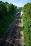 GRINSTEAD EST, SUSSEX/UK OCCIDENTAL - 14 AOÛT : Train aux grimaces est Photographie stock