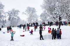 GRINSTEAD EST, SUSSEX/UK OCCIDENTAL - 6 JANVIER : Scène d'hiver dans Eas Images stock