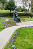GRINSTEAD EST, SUSSEX/UK OCCIDENTAL - 12 MARS : Mémorial de McIndoe dedans Photographie stock libre de droits