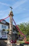 GRINSTEAD ORIENTALE, SUSSEX/UK AD OVEST - 18 AGOSTO: Vista della guerra Mem fotografie stock libere da diritti