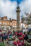 GRINSTEAD ORIENTALE SUSSEX/UK AD OVEST - 13 NOVEMBRE: Cerimonia commemorativa o Fotografie Stock