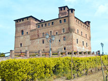 Grinzane Cavour Castle Royalty Free Stock Images