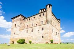 Grinzane Cavour Castle Stock Image