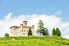 Grinzane Cavour Castle Royalty Free Stock Photo