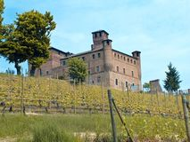 Grinzane Cavour Castle Royalty Free Stock Image