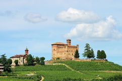 Grinzane Cavour Stock Photography