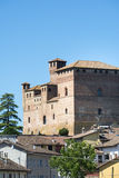 Grinzane Cavour (Langhe, Itália) Fotografia de Stock
