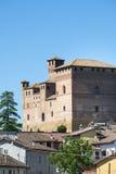 Grinzane Cavour (Langhe, Italia) Fotografia Stock