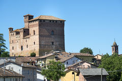 Grinzane Cavour (Langhe, Italy) Stock Images