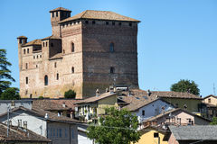 Grinzane Cavour (Langhe, Italy) Royalty Free Stock Image