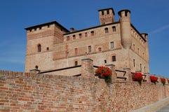 Grinzane Cavour Schloss lizenzfreie stockfotografie