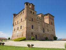Grinzane's caltle Royalty Free Stock Photography