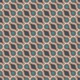 Gripa in i varandra diagram tessellationbakgrund Upprepade geometriska former Etnisk mosaikprydnad orientaliska bakgrunder royaltyfri illustrationer