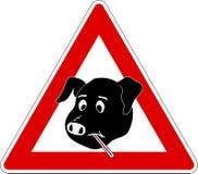 Gripe 1 de los cerdos fotografía de archivo