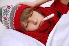 Gripe Imagem de Stock