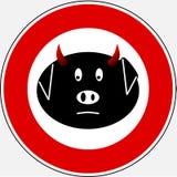 Gripe 5 de los cerdos imágenes de archivo libres de regalías