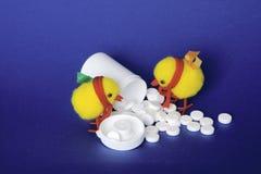 Gripe de pájaro Foto de archivo libre de regalías