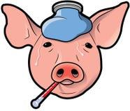 Gripe dos suínos Ilustração do Vetor
