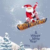 Grippages de Santa Image libre de droits