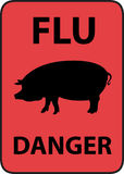 Grippe de porcs Photos stock