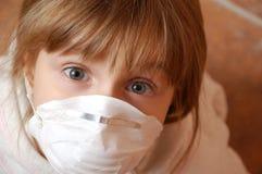 Grippepanik Lizenzfreie Stockfotos
