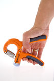 Gripper in female hand Royalty Free Stock Photography