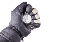Gripping time Stock Photography