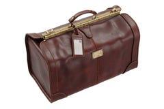 Gripsack en cuir de voyage, sac illustration stock