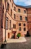 Gripsholm城堡,瑞典庭院; 免版税图库摄影