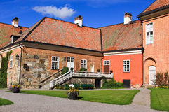 Gripsholm castle. Castle and environment in Sweden Royalty Free Stock Images