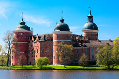 Gripsholm Castle. View from the Lake Malaren Stock Photo