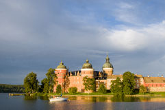 Gripsholm Castle early morning Stock Image