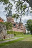 Gripsholm Castle in Swedish summer. Historic castle royalty free stock image