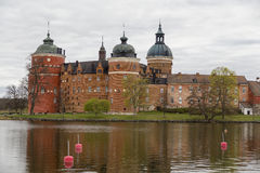 Gripsholm Castle in the town of Mariefred Royalty Free Stock Image