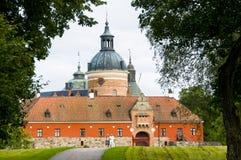 Det Gripsholm slottet hänrycker royaltyfria foton