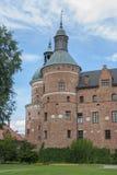 Gripsholmkasteel in Mariefred in Zweden stock fotografie