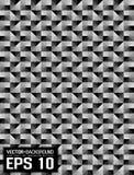 Gris abstracto del mosaico del zueco del fondo ilustración del vector
