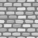 Gris de mur de briques, croquis pour votre conception illustration libre de droits