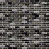 Gris de noir de mur de briques de vecteur illustration libre de droits