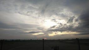 Gris del cielo imagen de archivo