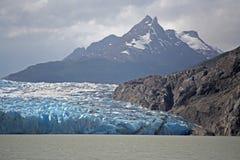 Gris del glaciar imagen de archivo libre de regalías