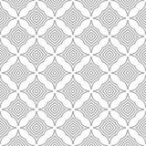 Gris en el ornamento geométrico blanco Modelo inconsútil Foto de archivo libre de regalías